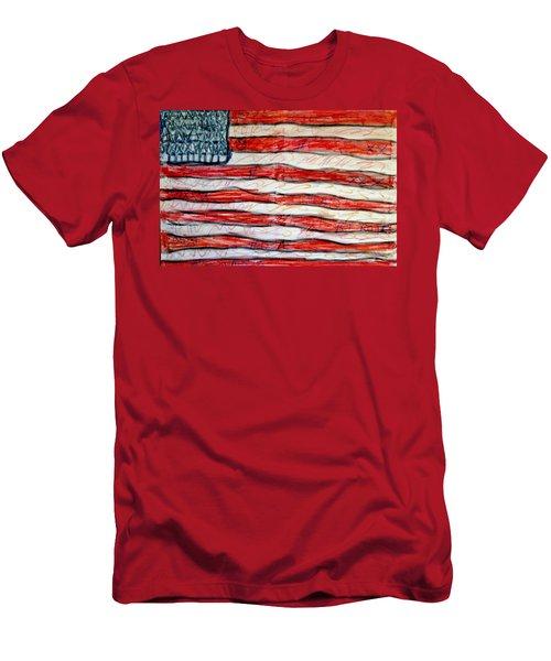 American Social Men's T-Shirt (Slim Fit) by Paulo Guimaraes