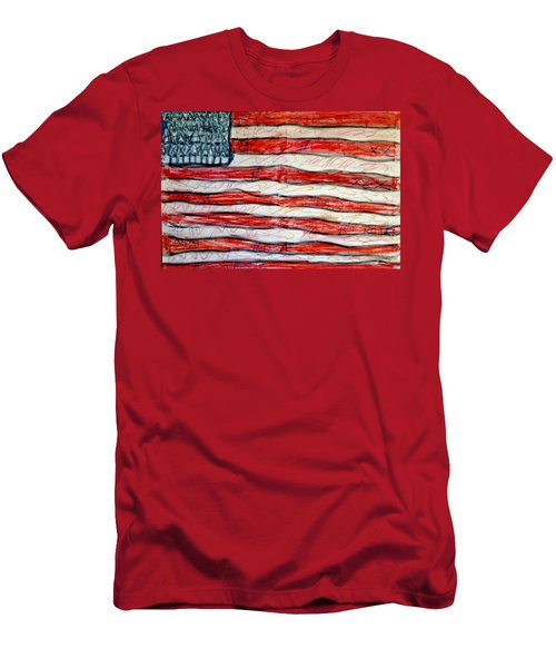 American Social Men's T-Shirt (Athletic Fit)