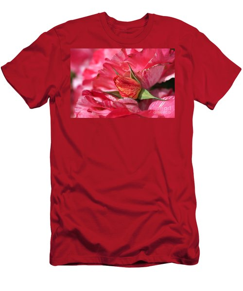 Amongst The Rose Petals Men's T-Shirt (Athletic Fit)