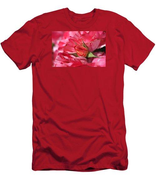 Amongst The Rose Petals Men's T-Shirt (Athletic Fit)