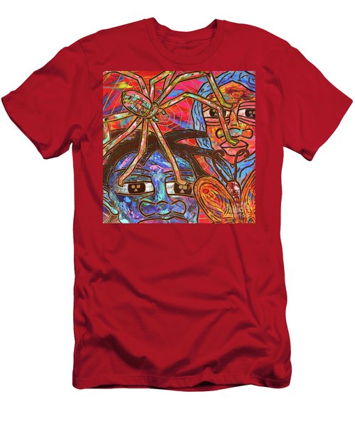 Anansi's Web Men's T-Shirt (Athletic Fit)
