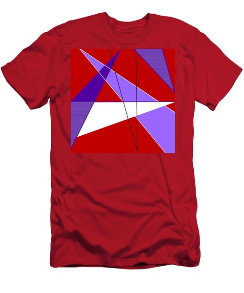 Angles And Triangles Men's T-Shirt (Slim Fit) by Tara Hutton