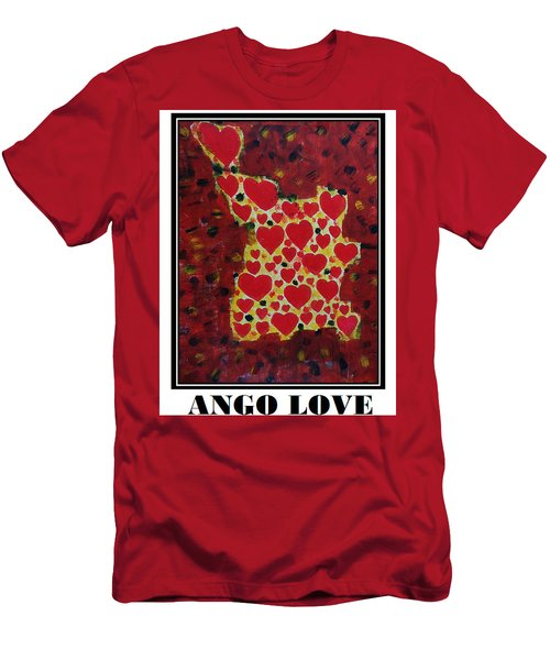 Ango Love Men's T-Shirt (Athletic Fit)