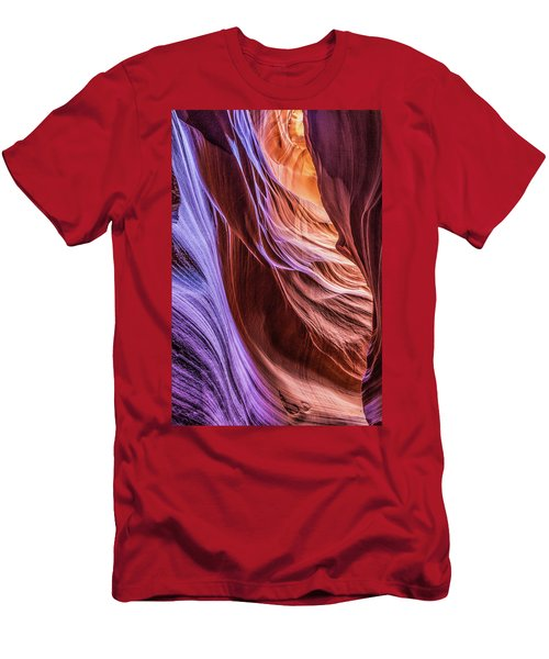 Antelope Canyon Air Glow Men's T-Shirt (Athletic Fit)