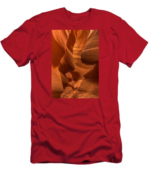 Antelope Canyon Men's T-Shirt (Slim Fit) by Jerry Cahill