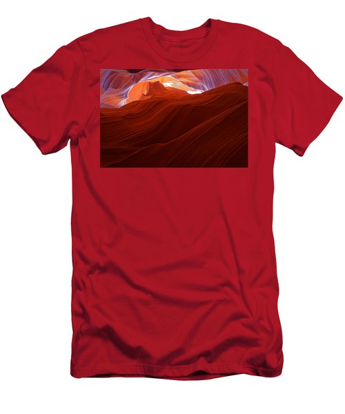 Antelope View Men's T-Shirt (Slim Fit) by Jonathan Davison