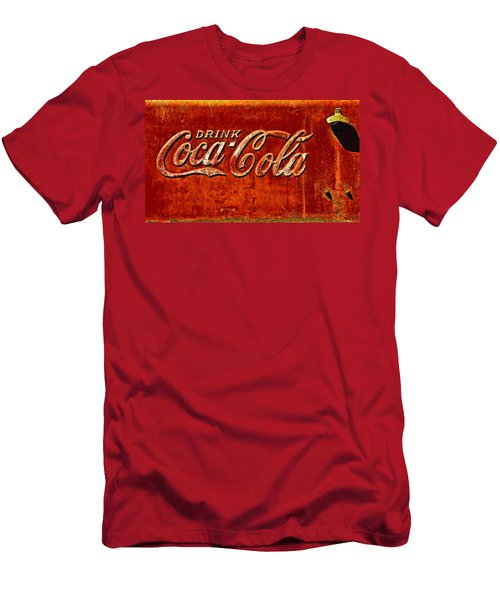 Antique Soda Cooler 3 Men's T-Shirt (Athletic Fit)