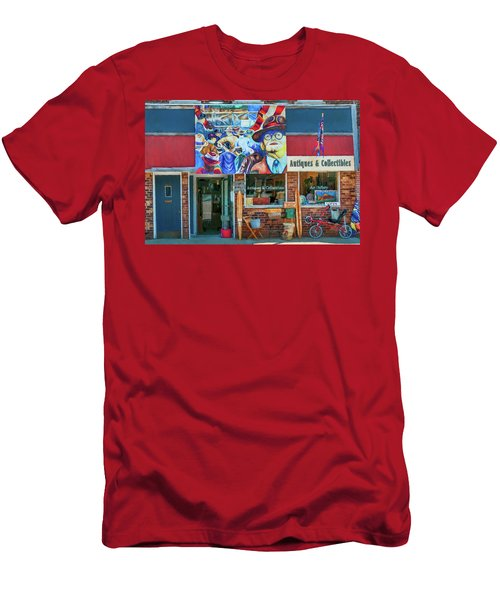 Antiques And Collectibles Men's T-Shirt (Slim Fit) by Trey Foerster