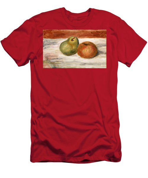 Apple And Pear Men's T-Shirt (Athletic Fit)