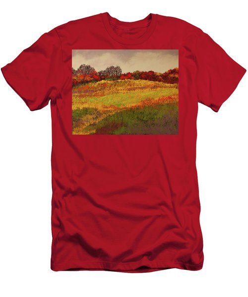 Men's T-Shirt (Athletic Fit) featuring the photograph Approaching Magpie Forest by David Patterson
