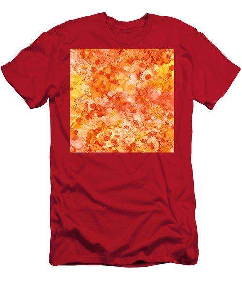 Apricot Delight  Men's T-Shirt (Athletic Fit)