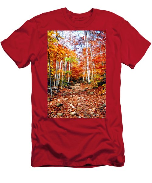 Arethusa Falls Trail Men's T-Shirt (Athletic Fit)