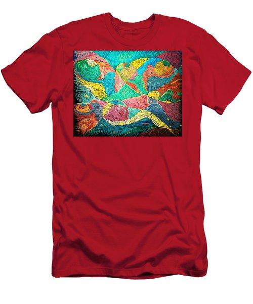 Argungun Fishing Festival Men's T-Shirt (Athletic Fit)