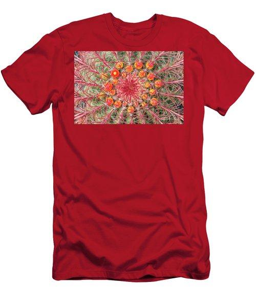 Arizona Barrel Cactus Men's T-Shirt (Athletic Fit)