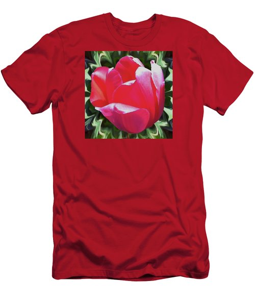Arlington Tulip Men's T-Shirt (Athletic Fit)