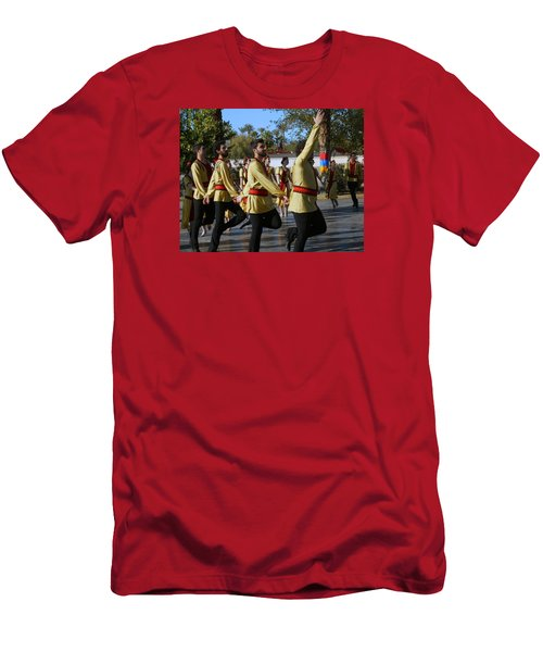 Armenian Dancers 6 Men's T-Shirt (Athletic Fit)