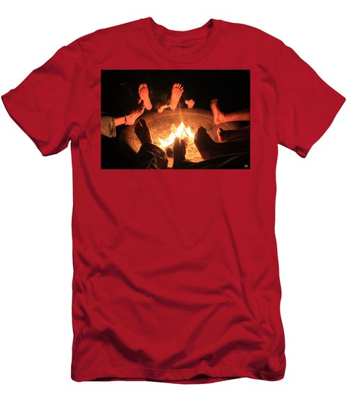 Around The Fireplace Men's T-Shirt (Athletic Fit)