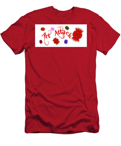 Art Attack  Men's T-Shirt (Athletic Fit)