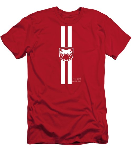 Dodge Viper Red Phone Case Men's T-Shirt (Athletic Fit)