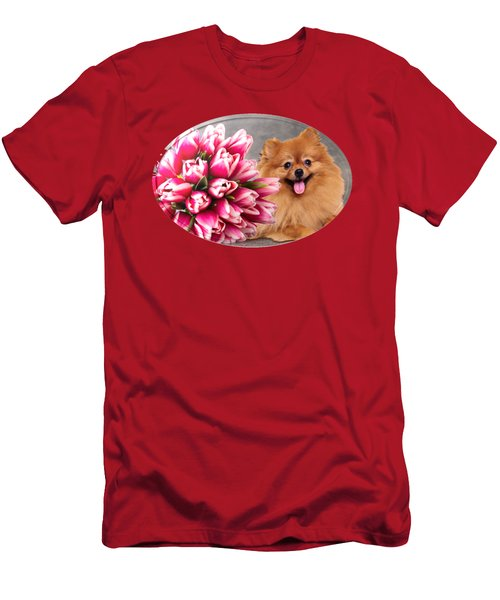 Tulips And Me Men's T-Shirt (Athletic Fit)
