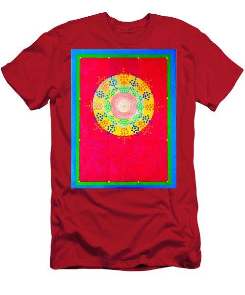 Asia Sun Men's T-Shirt (Athletic Fit)
