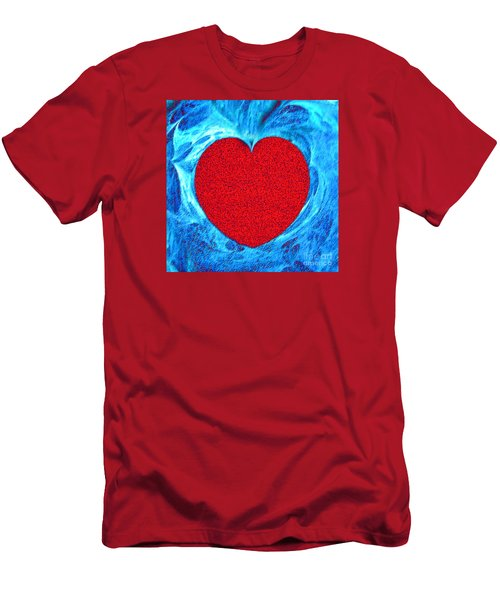 At The Heart Of The Matter Men's T-Shirt (Slim Fit) by Merton Allen