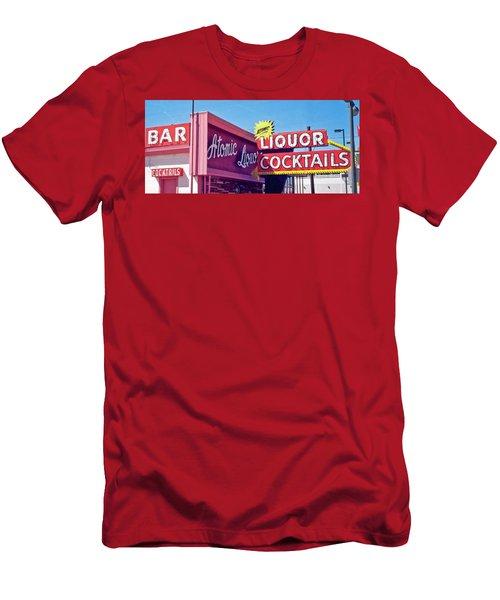 Atomic Liquors Men's T-Shirt (Slim Fit) by Matthew Bamberg