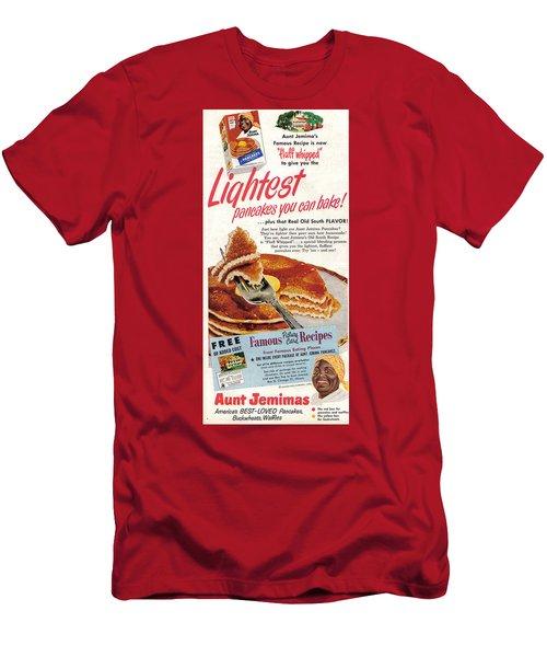 Aunt Jemima Pancakes Men's T-Shirt (Athletic Fit)