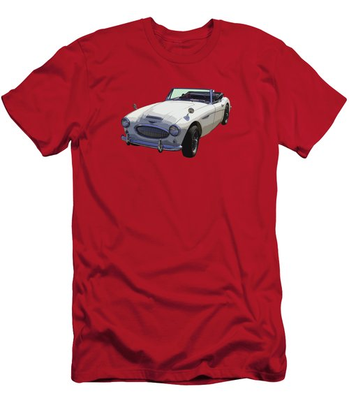 Austin Healey 300 Classic Convertible Sportscar  Men's T-Shirt (Slim Fit) by Keith Webber Jr