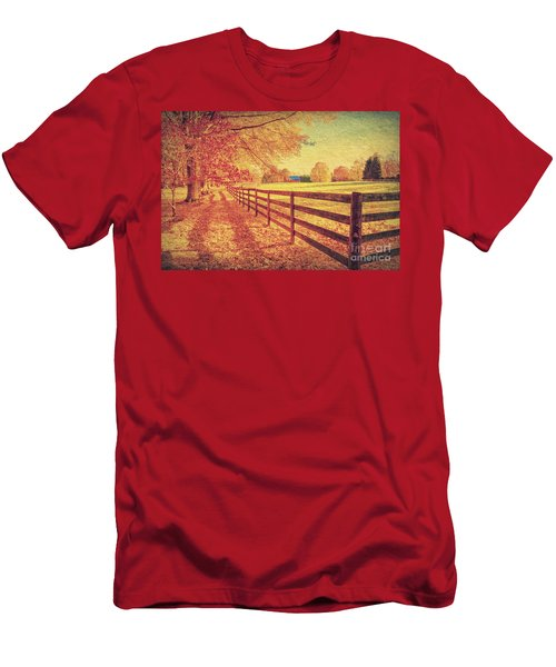 Autumn Fences Men's T-Shirt (Athletic Fit)