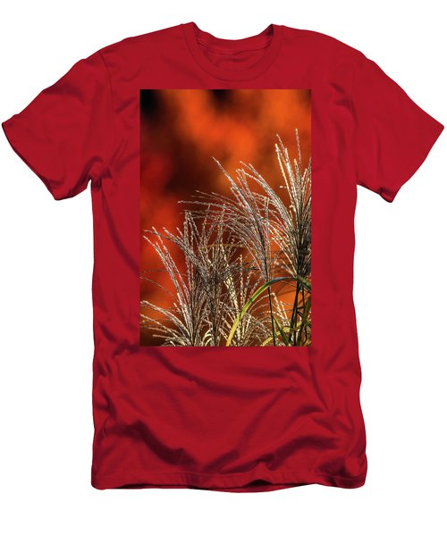 Autumn Fire - 1 Men's T-Shirt (Athletic Fit)