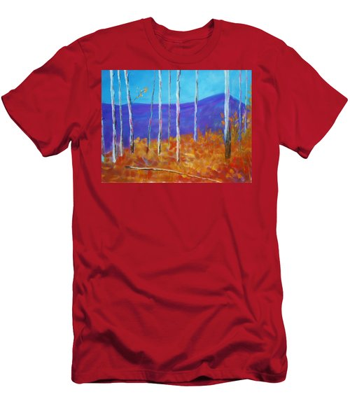 Autumn In Cloudcroft Men's T-Shirt (Athletic Fit)