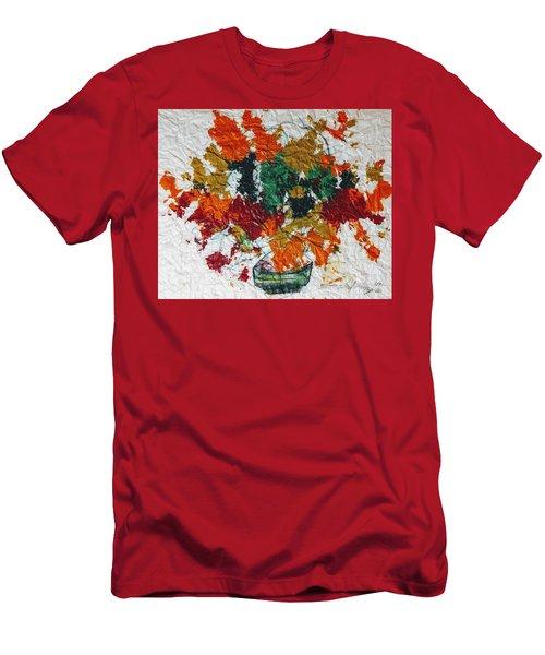 Autumn Leaves Plant Men's T-Shirt (Athletic Fit)