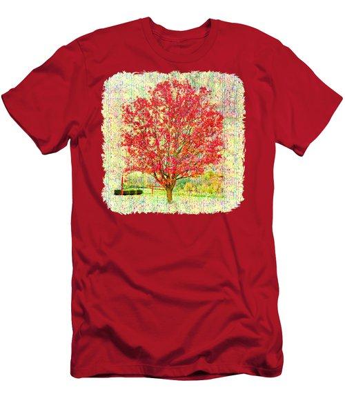 Autumn Musings 2 Men's T-Shirt (Slim Fit) by John M Bailey