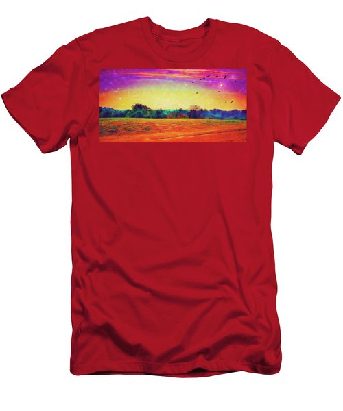 Autumn On Earth Two Men's T-Shirt (Athletic Fit)