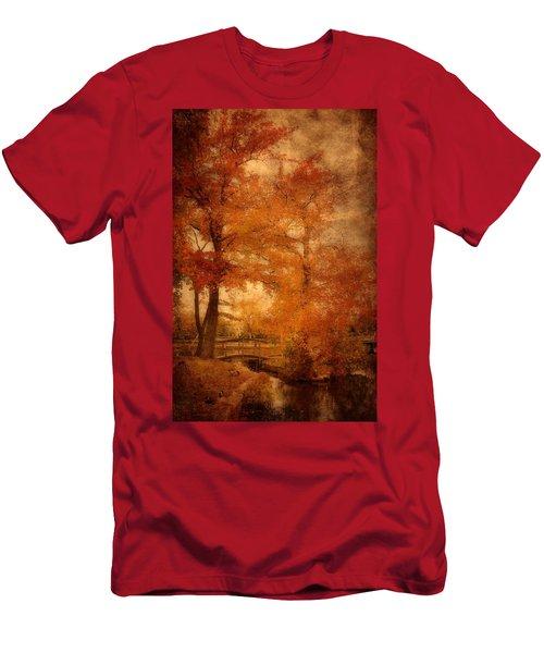 Autumn Tapestry - Lake Carasaljo Men's T-Shirt (Athletic Fit)