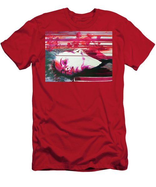 Men's T-Shirt (Athletic Fit) featuring the painting Autumn's Waiting  by Rene Capone