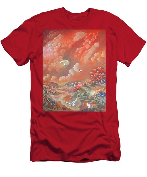 Avian Landscape Men's T-Shirt (Athletic Fit)