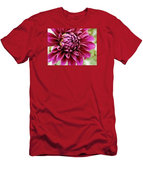 Awesome Dahlia Men's T-Shirt (Slim Fit) by VLee Watson
