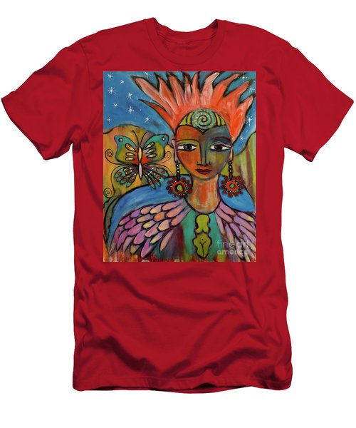 Aztec Princess Men's T-Shirt (Athletic Fit)