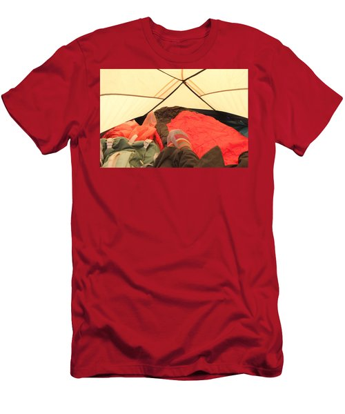 Backpacking Moments Men's T-Shirt (Athletic Fit)
