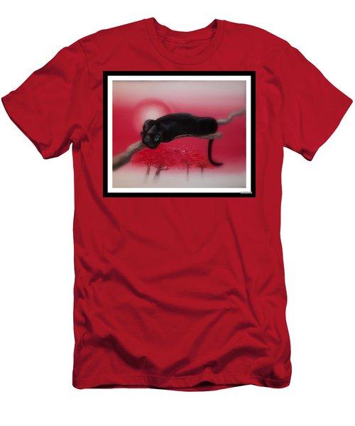 Bad Leopard   Men's T-Shirt (Athletic Fit)