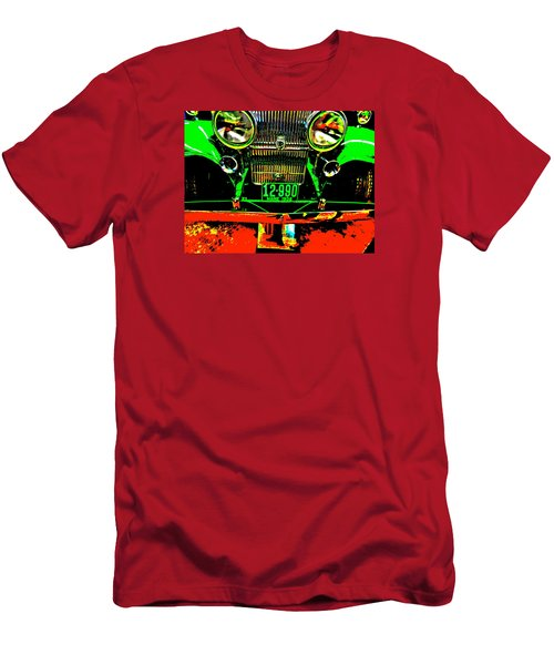 Bahre Car Show II 21 Men's T-Shirt (Slim Fit) by George Ramos
