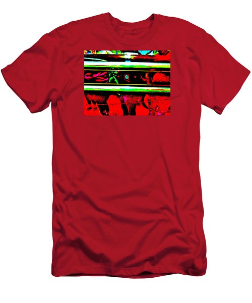 Bahre Car Show II 28 Men's T-Shirt (Slim Fit) by George Ramos
