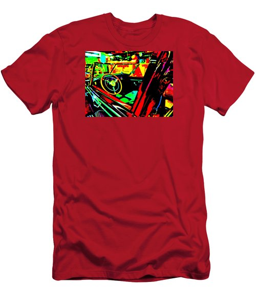 Bahre Car Show II 29 Men's T-Shirt (Slim Fit) by George Ramos