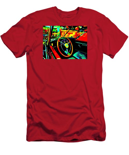 Bahre Car Show II 30 Men's T-Shirt (Slim Fit) by George Ramos