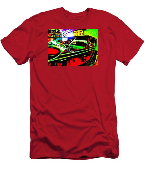 Bahre Car Show II 31 Men's T-Shirt (Slim Fit) by George Ramos