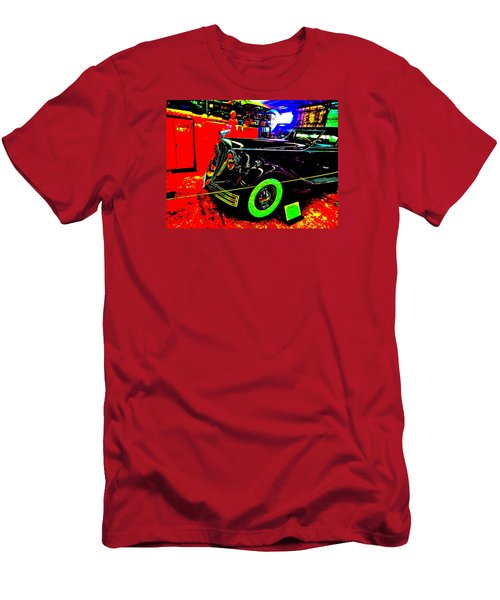 Bahre Car Show II 32 Men's T-Shirt (Slim Fit) by George Ramos