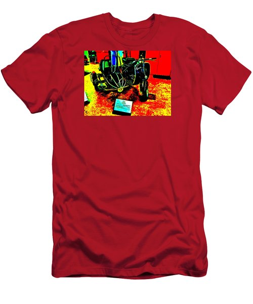 Bahre Car Show II 33 Men's T-Shirt (Slim Fit) by George Ramos