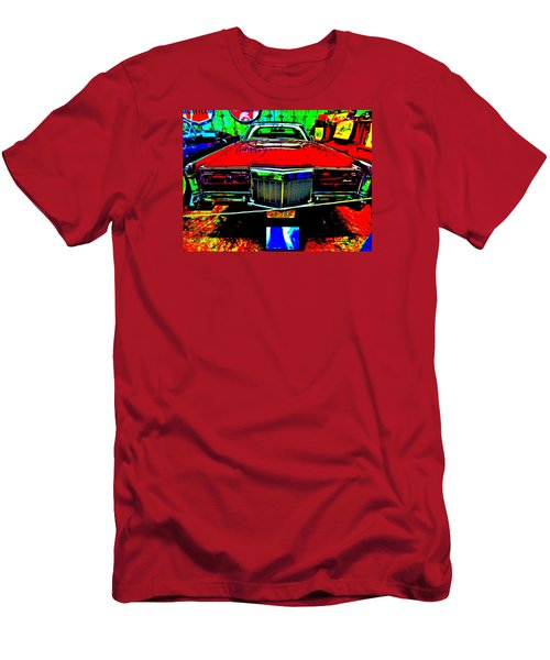 Bahre Car Show II 38 Men's T-Shirt (Slim Fit) by George Ramos